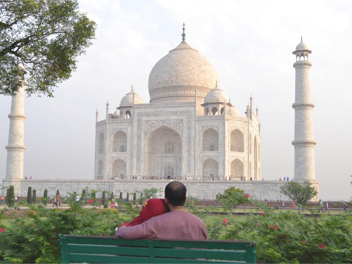 Penuh Warna di Golden Triangle India
