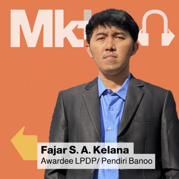 Tips Sukses Membangun Start-Up di Usia Belia Bareng Awardee LPDP: Fajar Sidik Abdullah