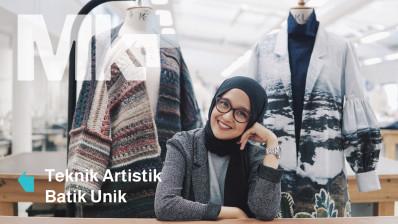 Teknik Artistik Batik Unik